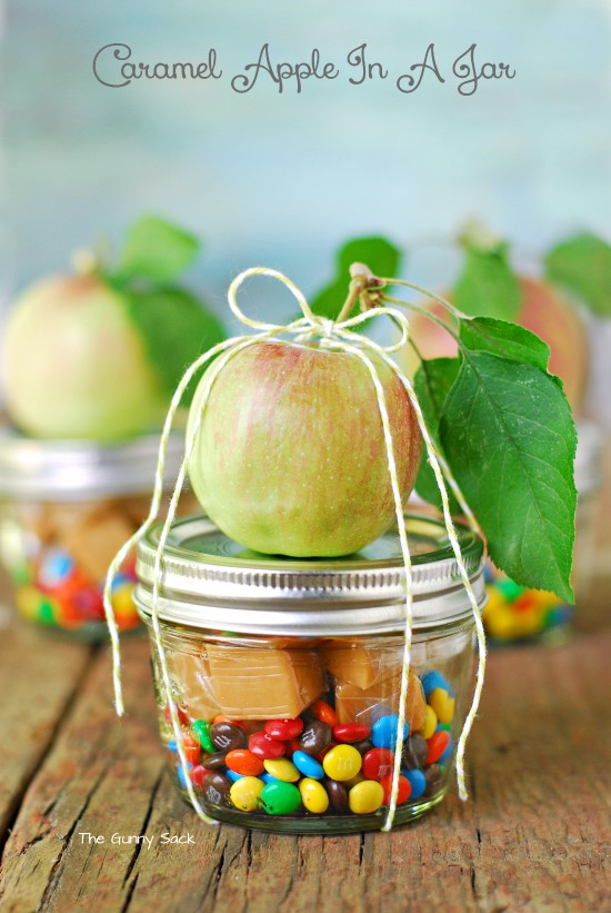 Caramel Apple in a Jar from The Gunny Sack
