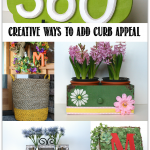Creative and budget friendly ways to add curb appeal for spring
