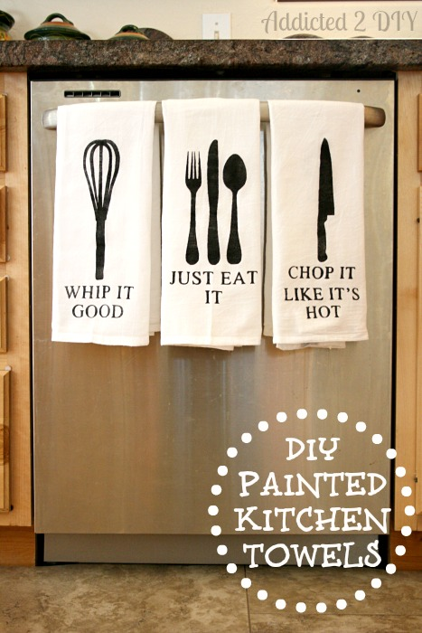 DIY-Painted-Kitchen-Towels