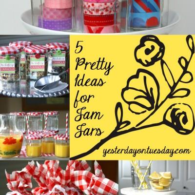 5 Pretty Ideas for Jam Jars