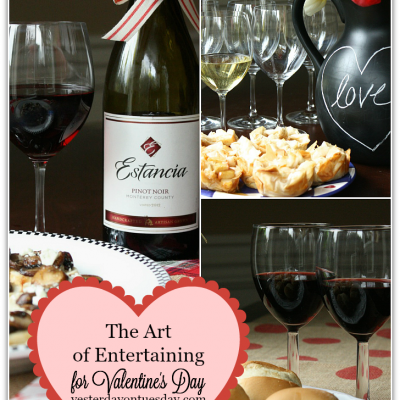 The Art of Entertaining for Valentine's Day