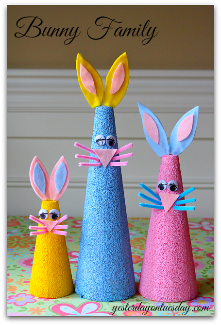DIY Bunny Family