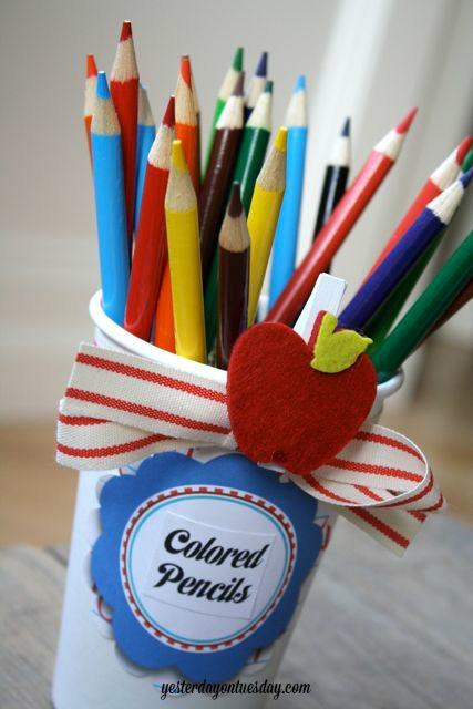 Cardboard Cups for Organizing