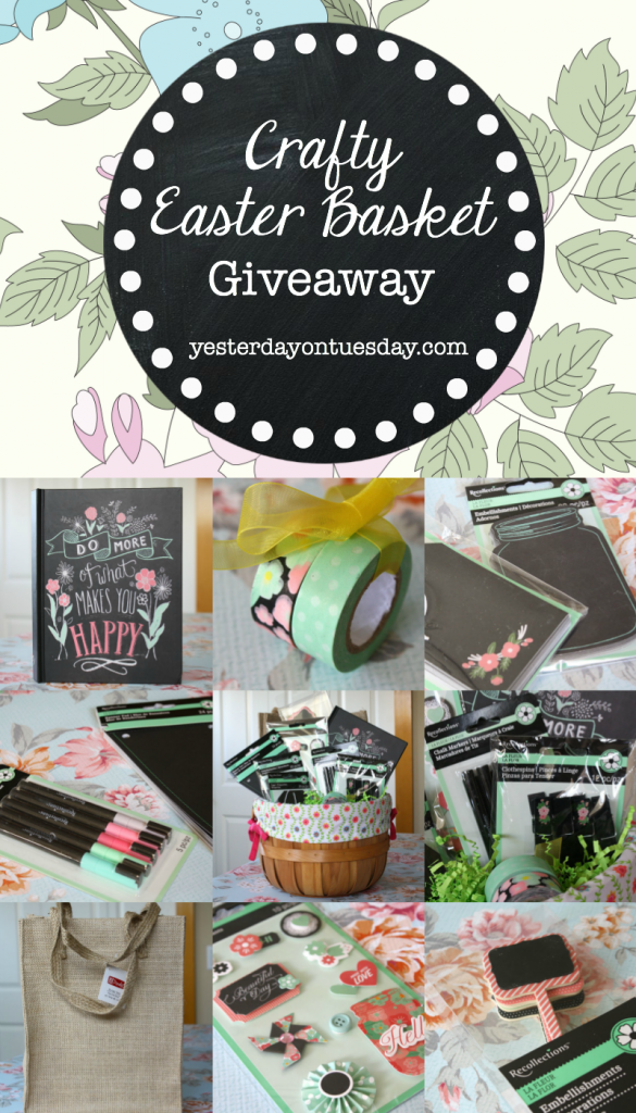 Win an Easter Basket filled with Crafty Supplies