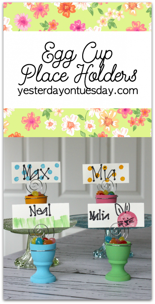 Easter Place Holders