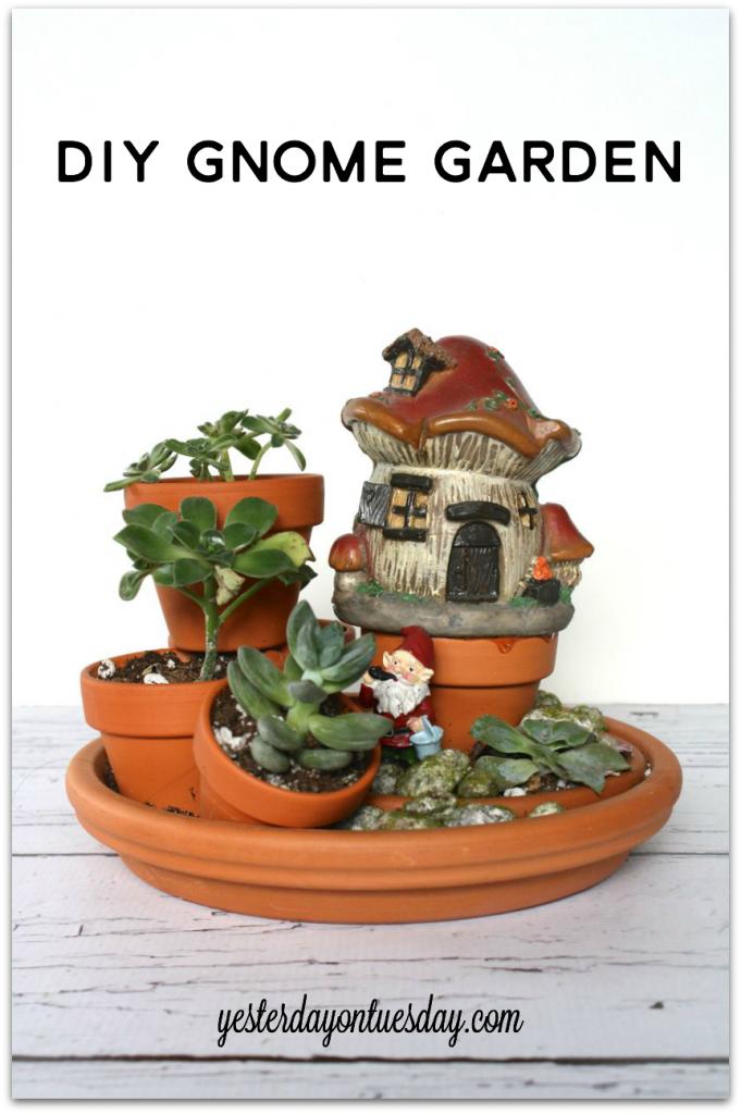 DIY Gnome Garden
