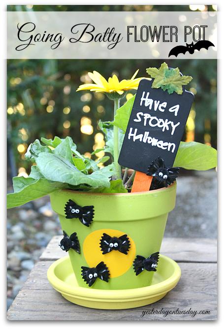 Halloween Flower Pot