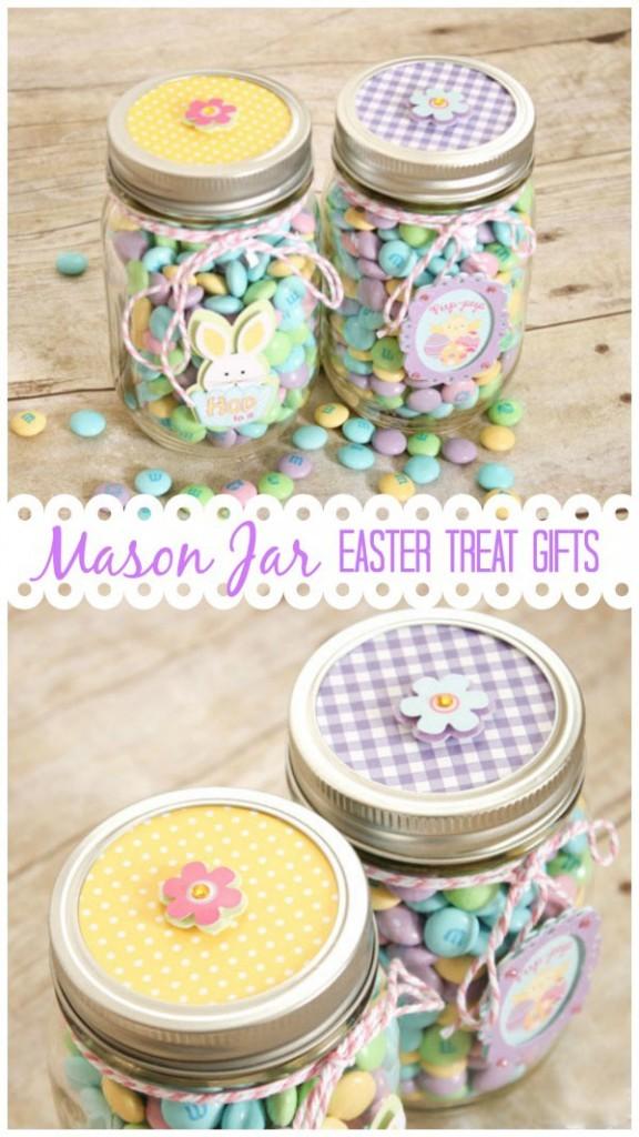 Mason Jar Easter Treats Crafts