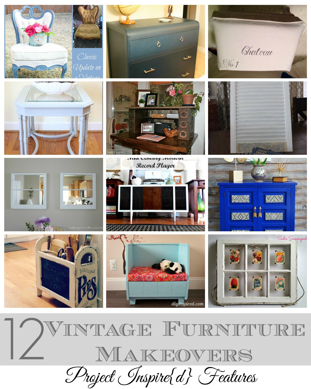 A Dozen Vintage Furniture Makeovers