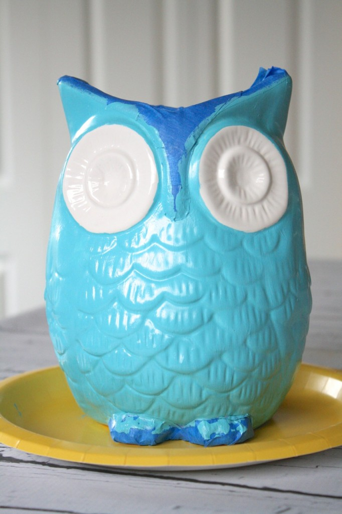 Blue Painted Owl
