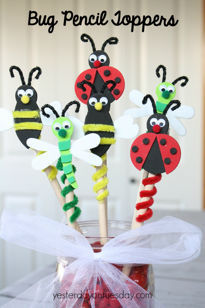 Insect Pencil Toppers