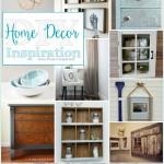 A dozen beautiful DIY Home Decor Ideas, shared at Project Inspire{d}