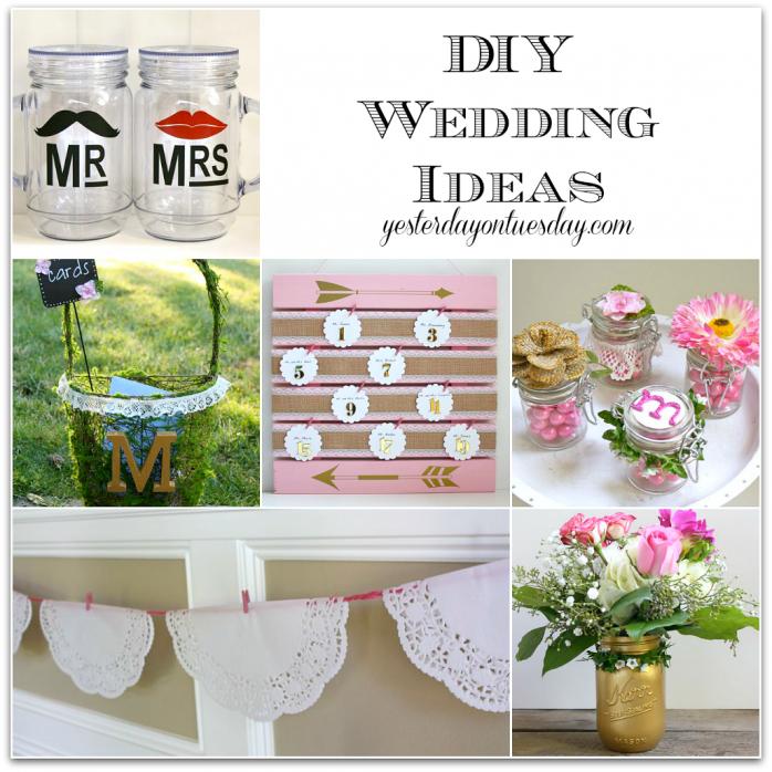 Great DIY Wedding Ideas