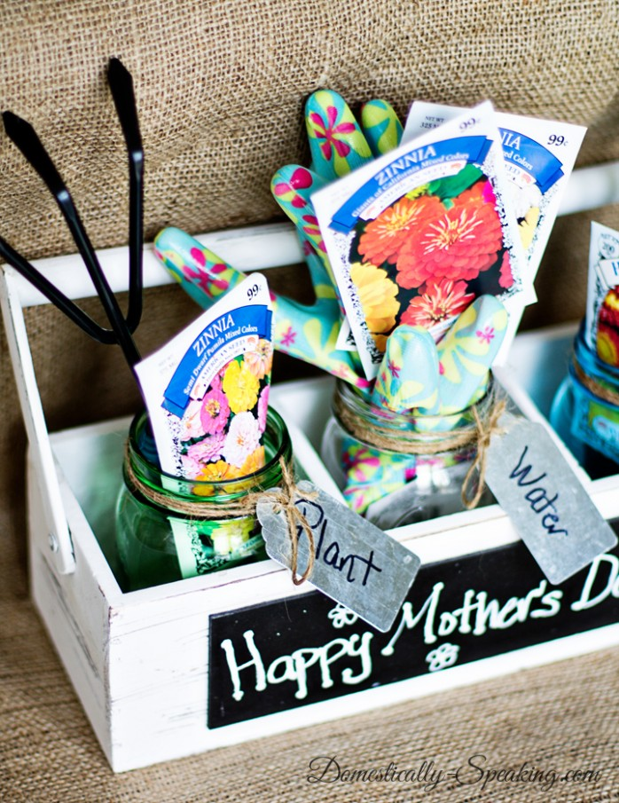 Mother's Day Gardening Gift from Domestically Speaking