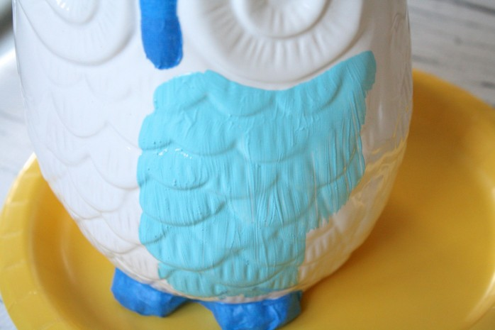Painting the Owl Blue