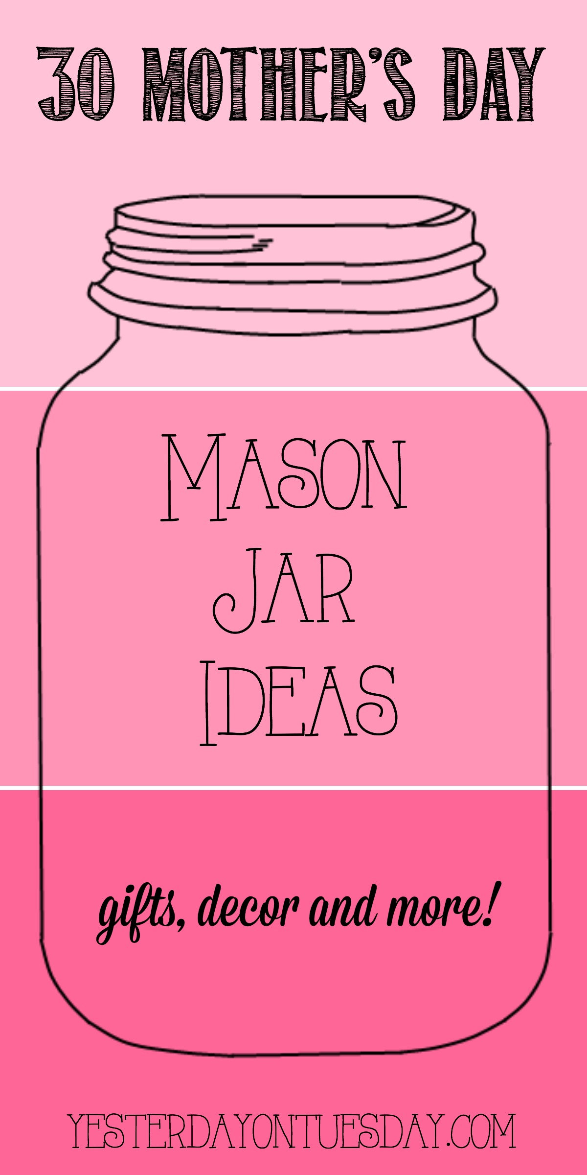 30 Mothers Day Mason Jar Ideas Jpg