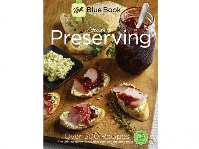 Enter to win a Ball Blue Book, packed with 500 recipes recipes for canning, pickling, dehydrating, freezing food, and much more!