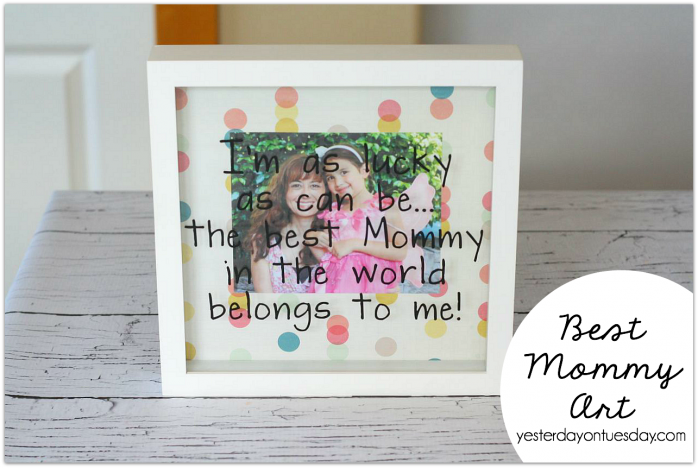 Best Mommy Art, a great Mother's Day Gift