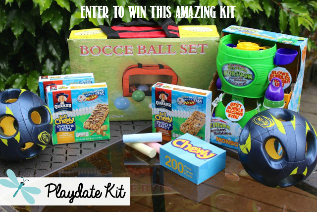 Giveaway for a Playdate Kit valued at $100.