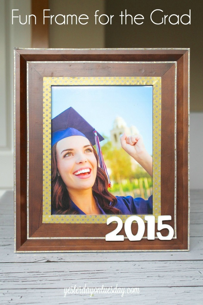 Fun Frame for the Grad, a great gift idea