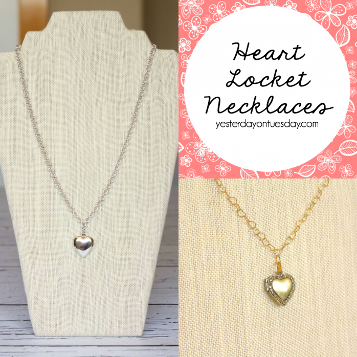 How to make Heart Locket Necklaces