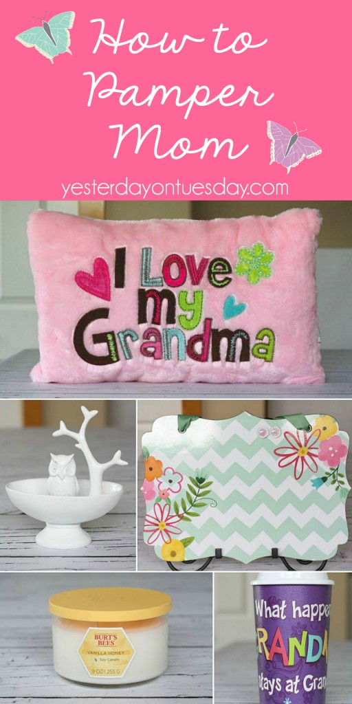 Great gift ideas for pampering Mom and Grandma on Mother's Day