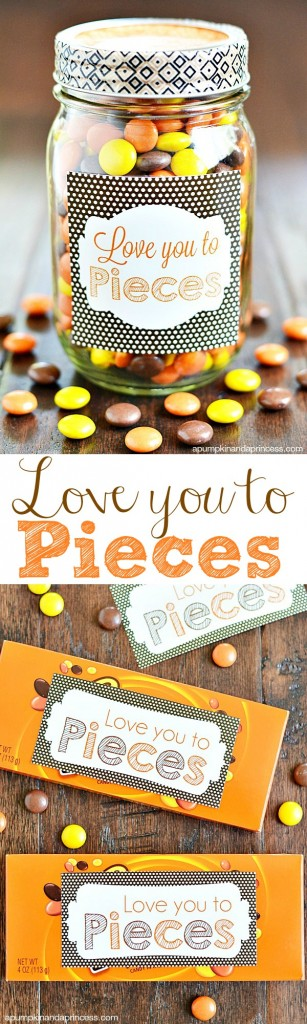 Love You to Pieces Printable