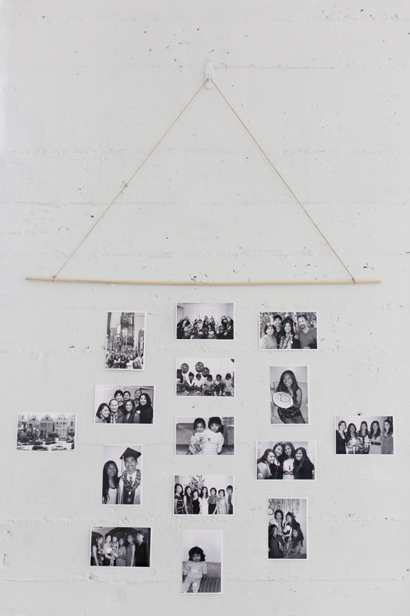 Make a meaningful wall hanging to celebrate your grad's accomplishments.