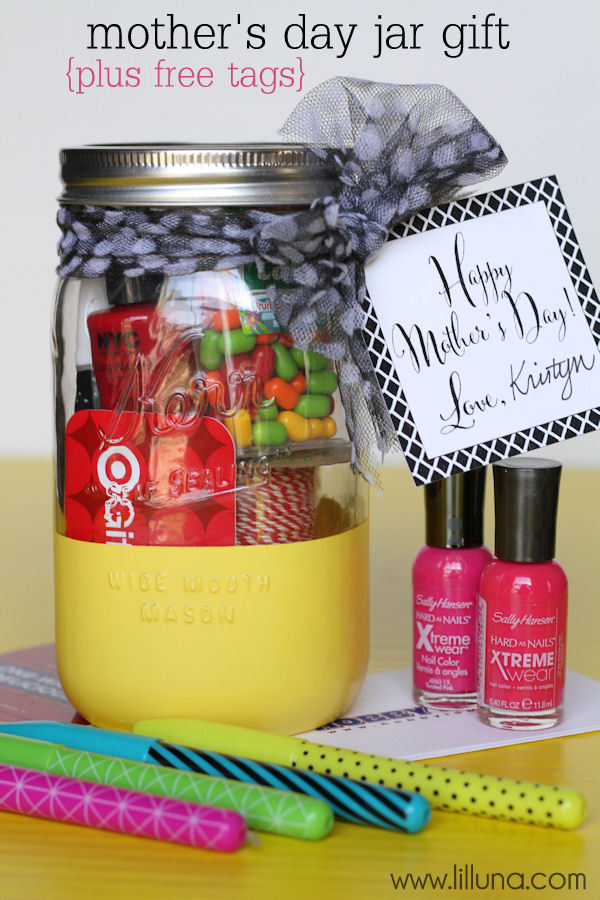 Mothers Day Gift Jar With Free Prints Jpg