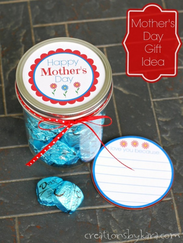 Mother's Day Gift with Printable Notes by Creations by Kara