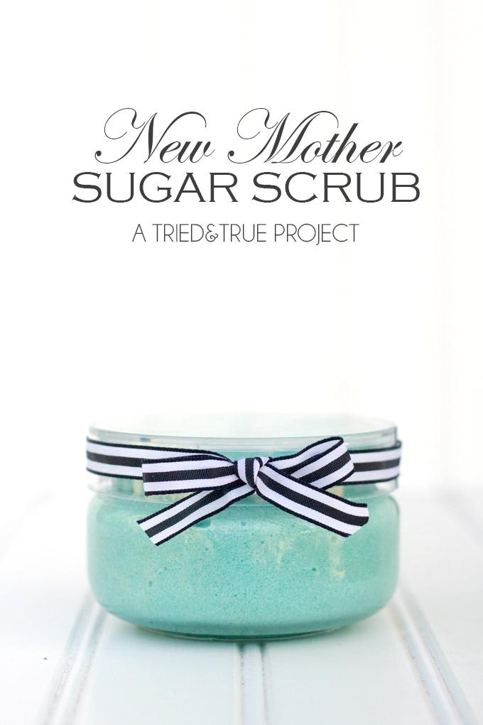 New Mom Sugar Scrub