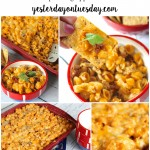 Tangy Mexican Bake, a yummy appetizer or meal. Great for barbecues and parties.