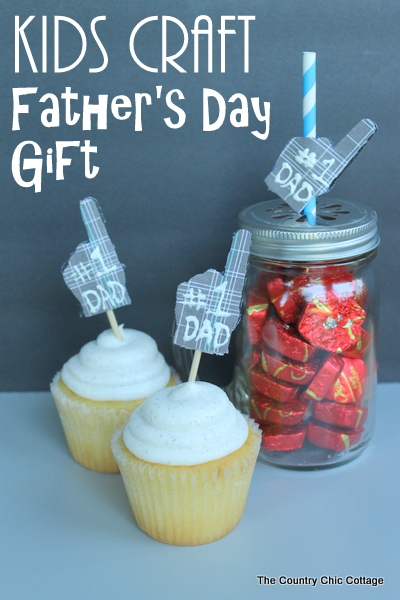 Kid's Craft Father's Day Gift