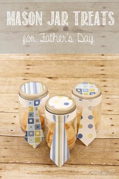 Mason Jar Treats for Father's Day