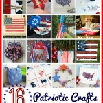 16 Fun Patriotic Crafts, great for 4th of July.