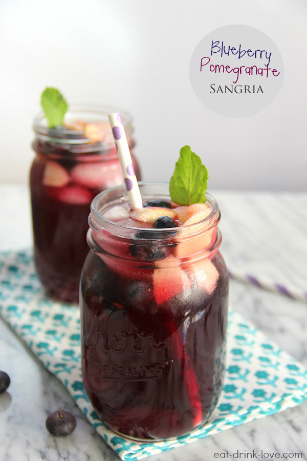 Blueberry-Pomegranate-Sangria