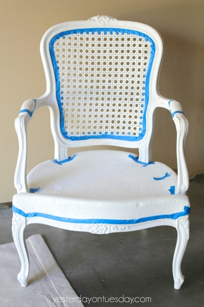 Chair with Tape