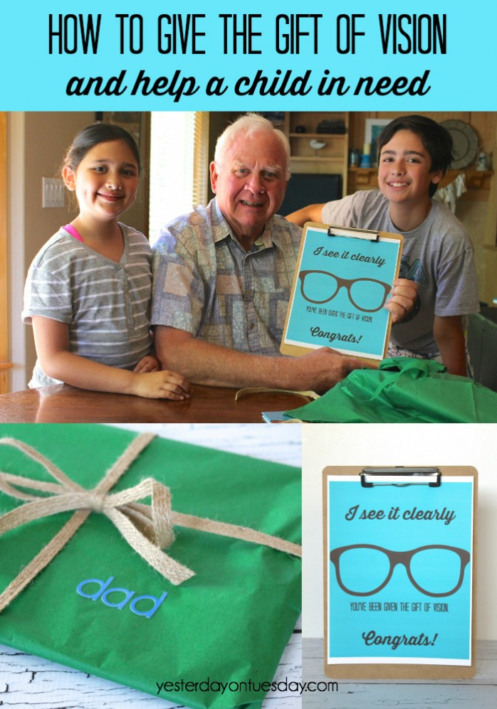 How to Give the Gift of Vision and Help a Child in Need