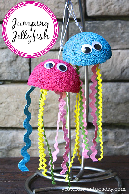 Jumping Jellyfish, a great project for summer