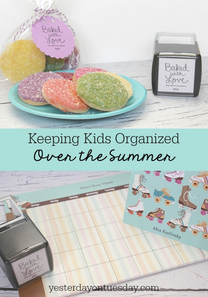 Keeping Kids Organized Over the Summer