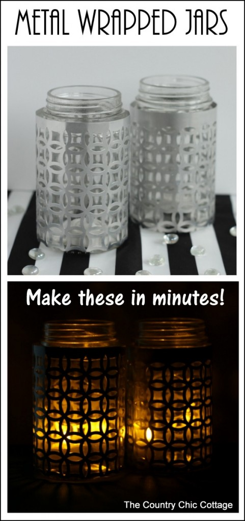 metal-wrapped-jar-candle-holders-collage