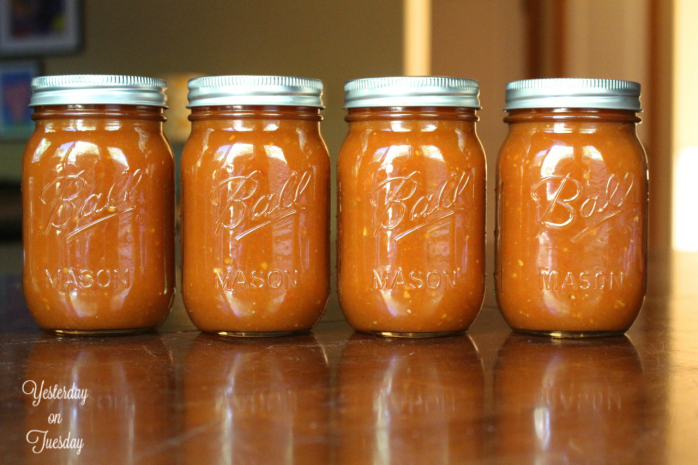 Recipe for how make and can the Best Barbecue Sauce.