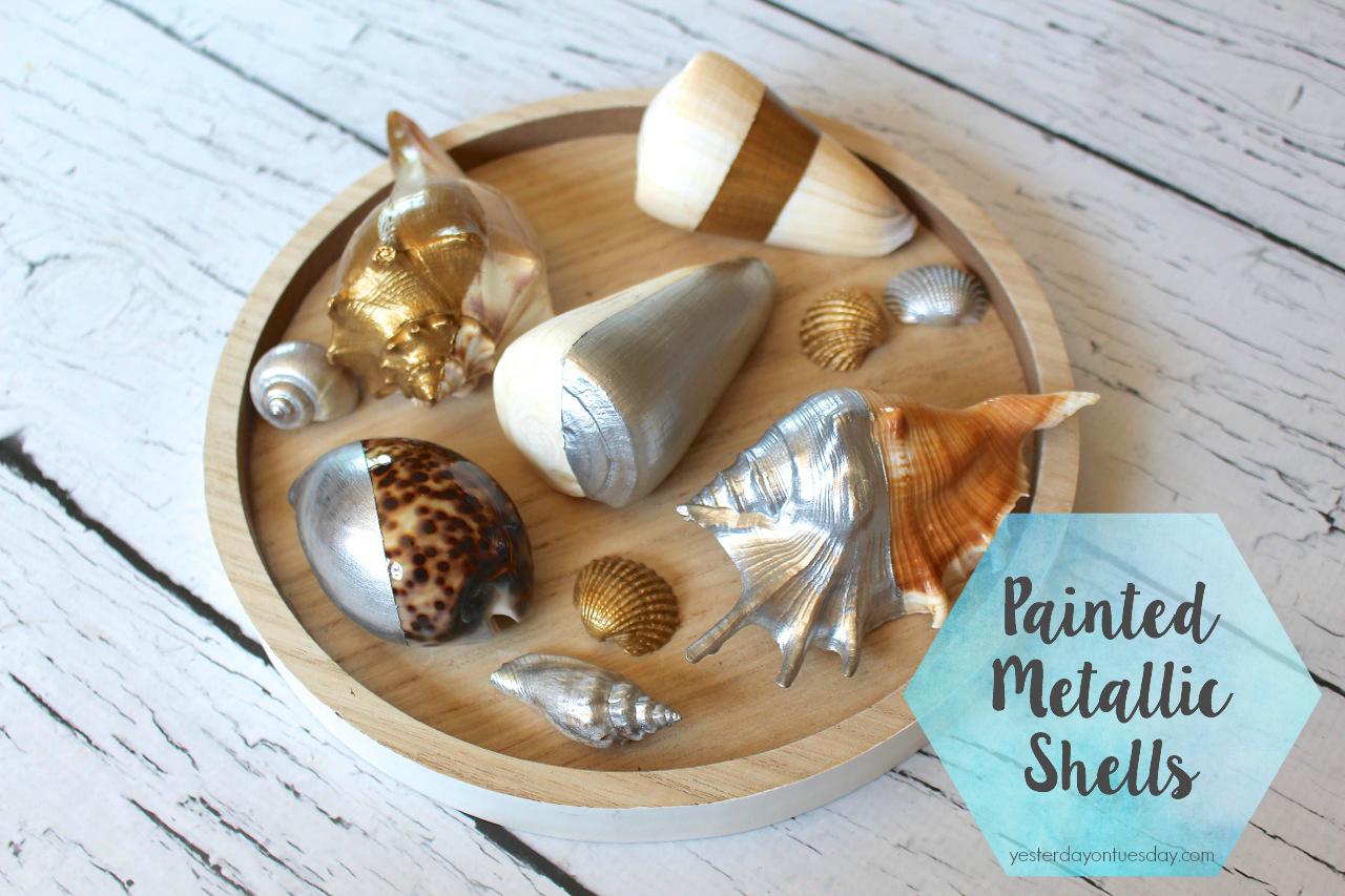 Painted Metallic Shells