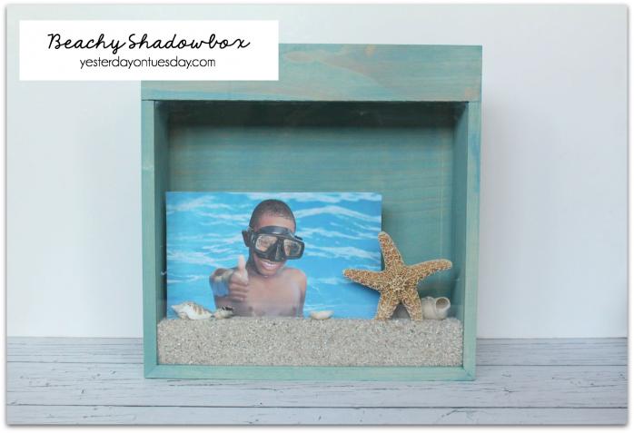 DIY Beachy Shadowbox