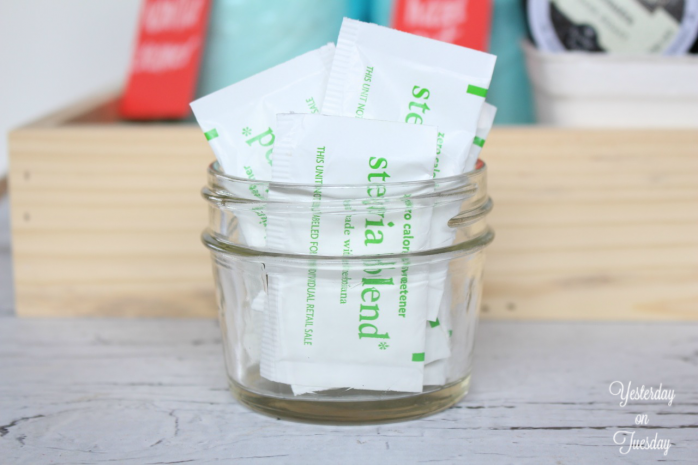 Use this ingenious hack along with mason jars to create a Smart and Simple Coffee Station!