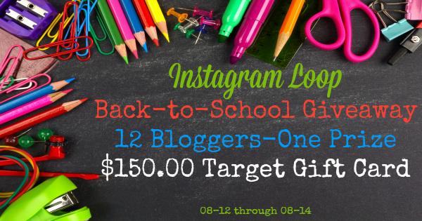 Facebook Instagram Loop Graphic Back-to-School Giveaway 08-12 through 08-15