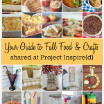 Get set for Fall with this guide to 20 of the top recipes and DIY projects to make to celebrate the season