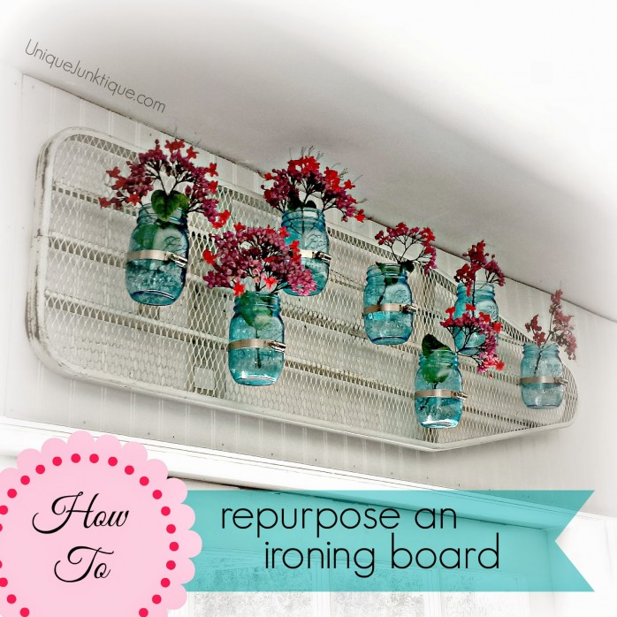 Repurpose an Ironing Board