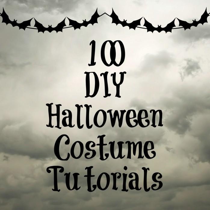 100 Amazing handmade Halloween Costume Tutorials