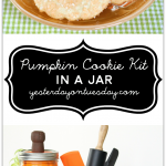 Create a darling Pumpkin Cookie Kit in a Jar